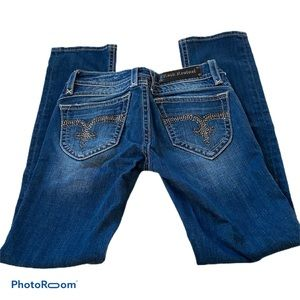 Bedazzled Rock Revival Jeans